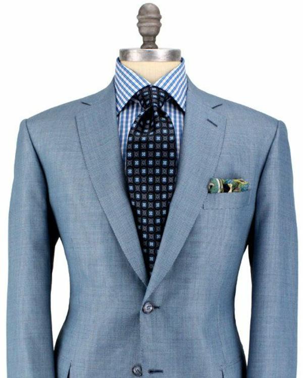 herrenmode italienischer anzug italienische mode schulter breit v-förmig