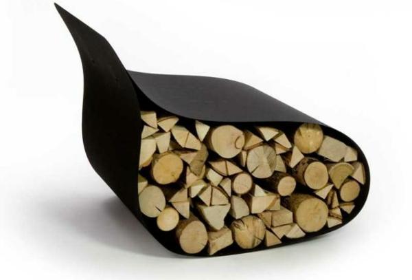 Brennholzlagerung zu hause stilvolle und originelle l sungen f r sie - Range buche interieur design ...