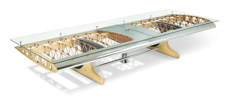 industrial design möbel Flying Bamboo Biplane