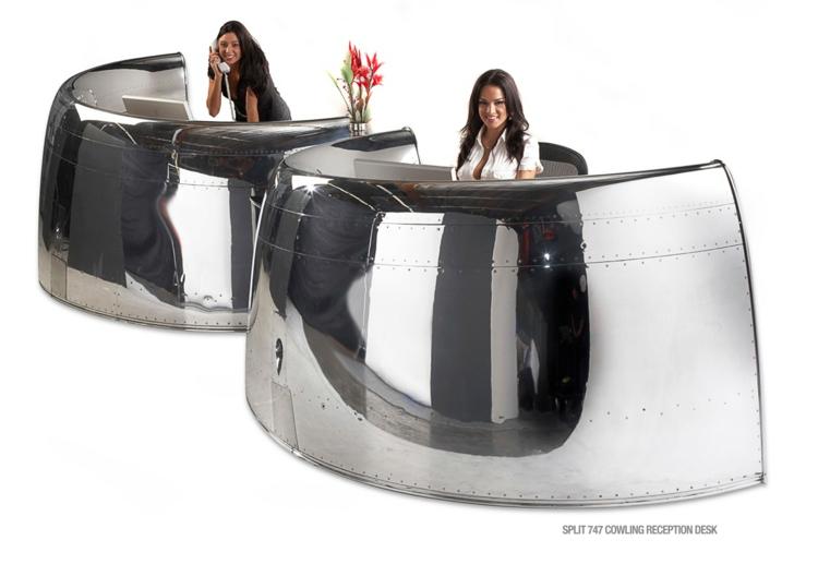 industrial design möbel ausgefallene möbel rezeption