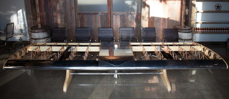 industrial style möbel Flying Bamboo Biplane konferenzsaal designer möbel