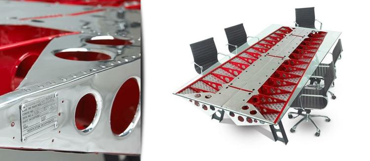 industrial style möbel Twin Beech ausgefallene möbel büroeinrichtung details