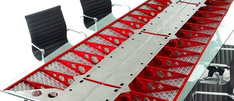 industrial style möbel Twin Beech ausgefallene möbel büroeinrichtung konferenzsaal