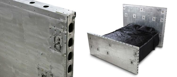industrial design möbel ausgefallene möbel bett