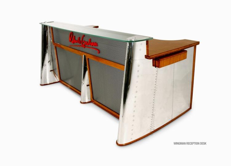 industrial style möbel ausgefallene möbel wingmandesk büroeinrichtung