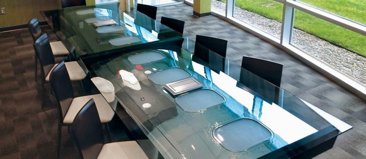 büromöbel fuselage conference table ausgefallene möbel konferenzsaal