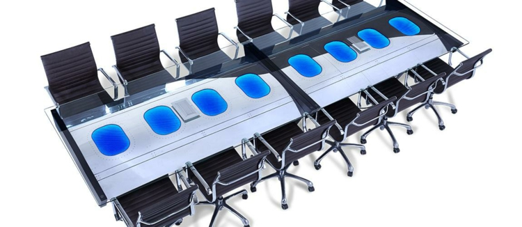 industrial style möbel fuselage conference table ausgefallene möbel