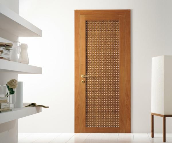 innentüren holz modernes design schöne textur