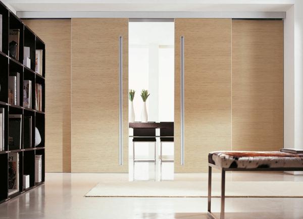 innentüren holz schiebetüren elegant design