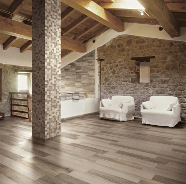 islatiles king wood ideen mosaik säulen