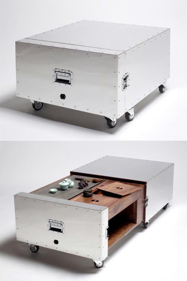 küche gestalten kücheninsel arbeitsplatte mehrere module