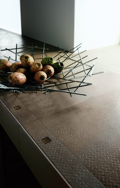 küche metalskin design cerdomus