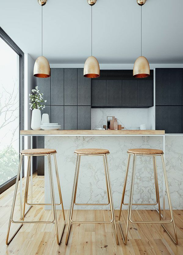 moderne k chenlampen sorgen f r auserlesene k chenbeleuchtung. Black Bedroom Furniture Sets. Home Design Ideas