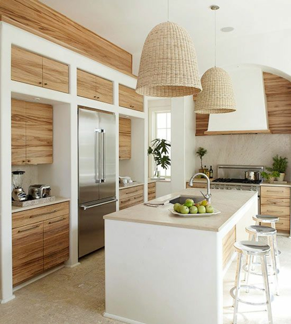 Moderne kuchenlampen sorgen fur auserlesene kuchenbeleuchtung for Küchenbeleuchtung decke