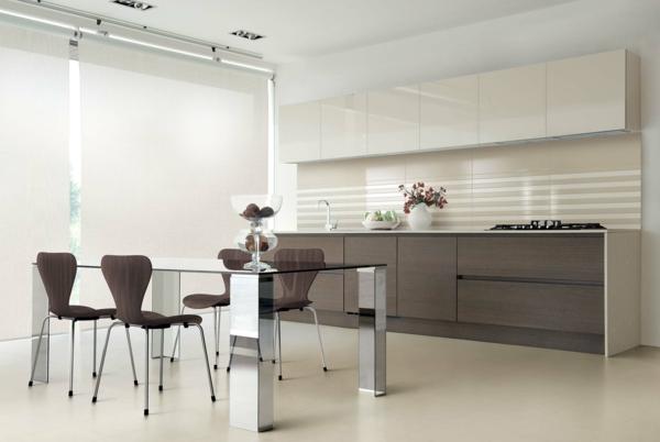 küchenschrank esstisch stühle spiegel
