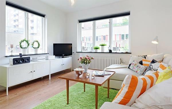wohnung kleine einrichten tipps schön gestalten apartment
