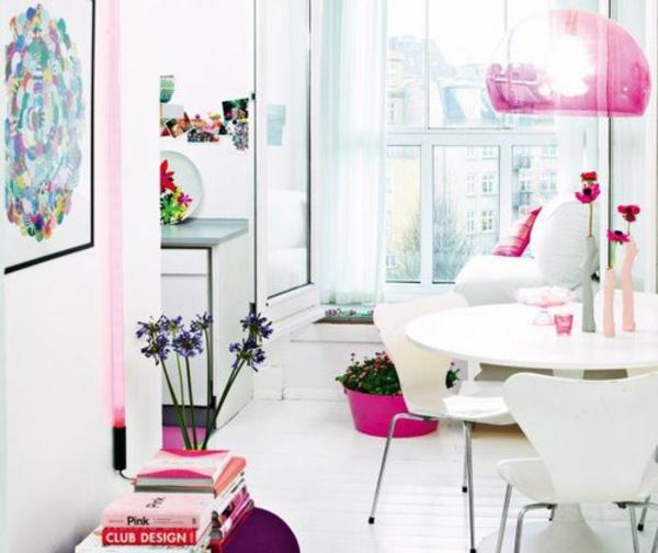 kleine wohnung einrichten tipps schön gestalten hell farben