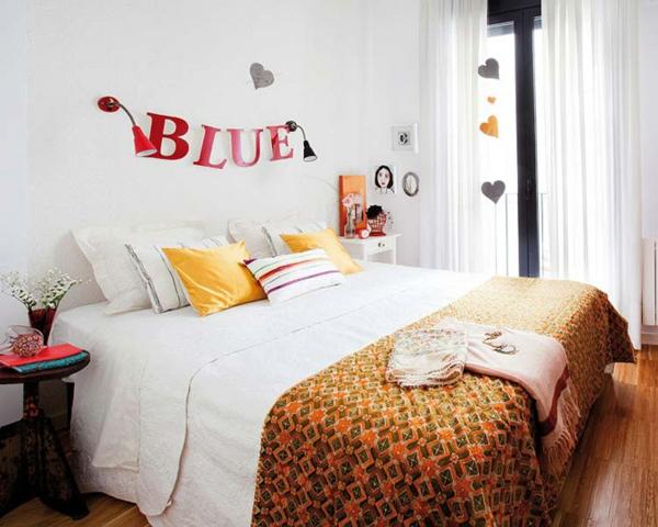 kleine wohnung einrichten tipps schlafzimmer bett