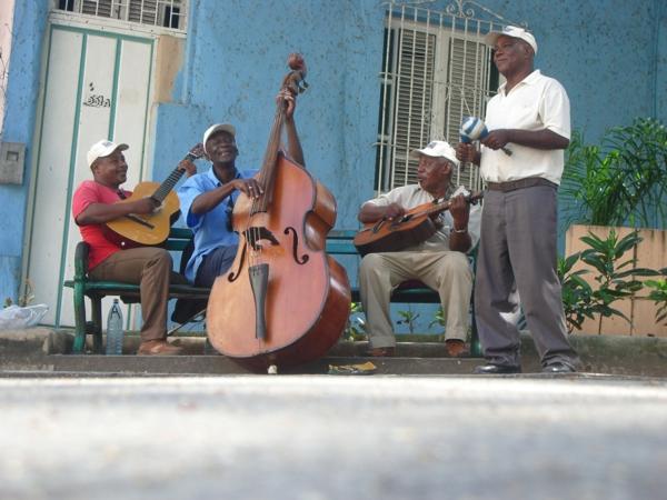 kubanische musik musikanten straße
