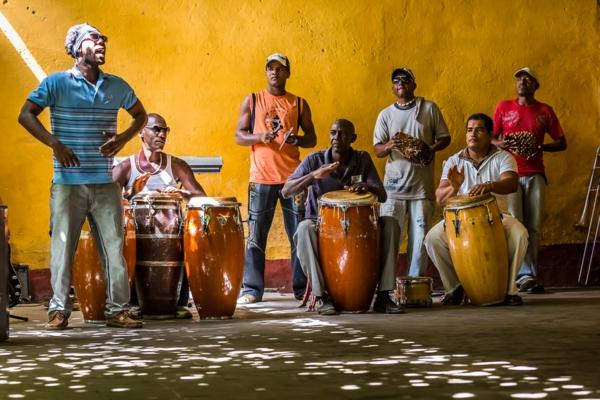 kubanische musik musikgruppe trinidad kuba