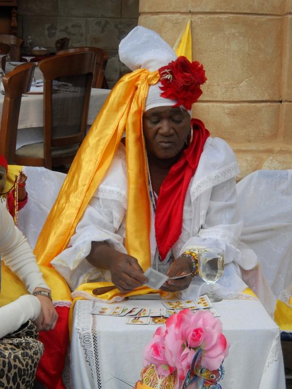 kubanische musik santeria hellseherin