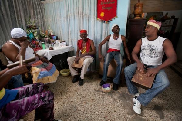 kubanische musik santeria ritual