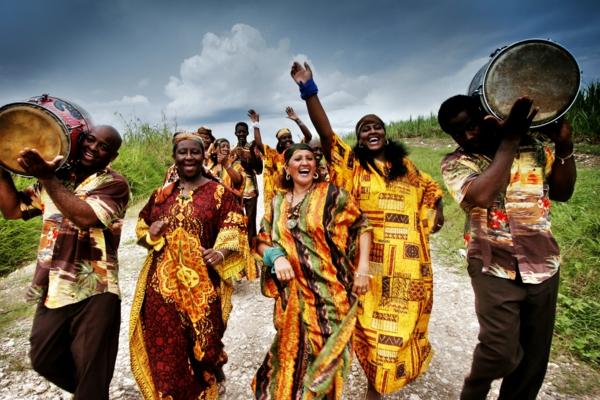 kubanische musik singende cabildos