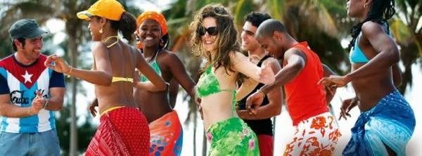 latino musik tanz strand kuba