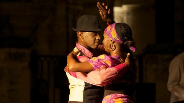latino musik tanzendes paar
