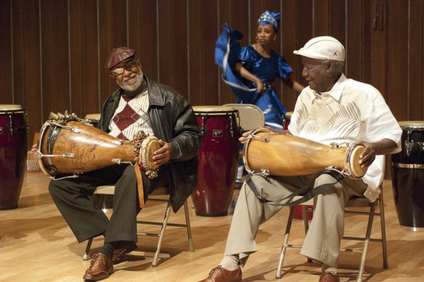 latino musik traditionelle trommeln