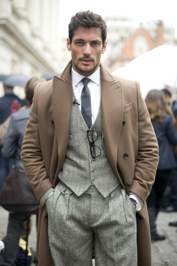 Englischer Anzug Klassische Eleganz F R Modebewusste M Nner