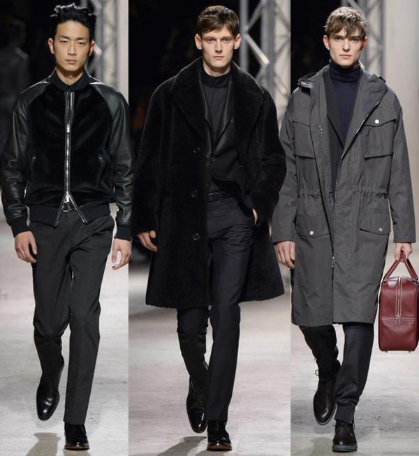 männer outfits Hermes fall winter 2014 2015 Modetipps Männern