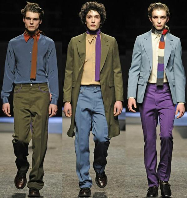 männer outfits Prada fall winter 2014 2015 Modetipps Männern