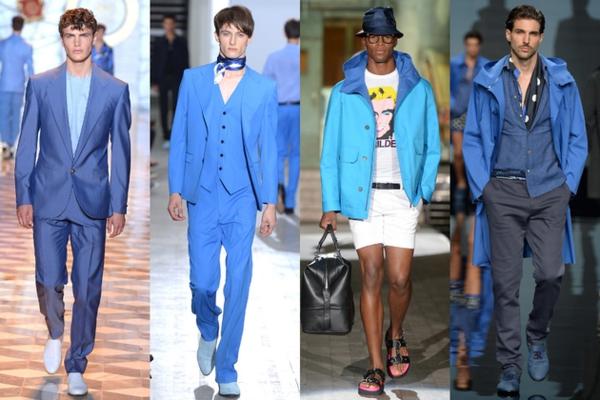 männer outfits farben blau moderends ss 2015 Modetipps Männern