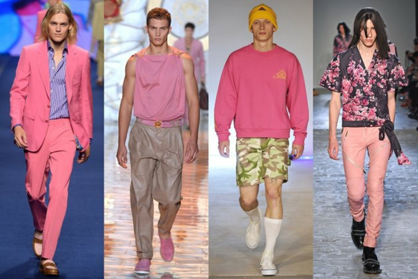 männer outfits farben rosa moderends ss 2015 Modetipps Männern