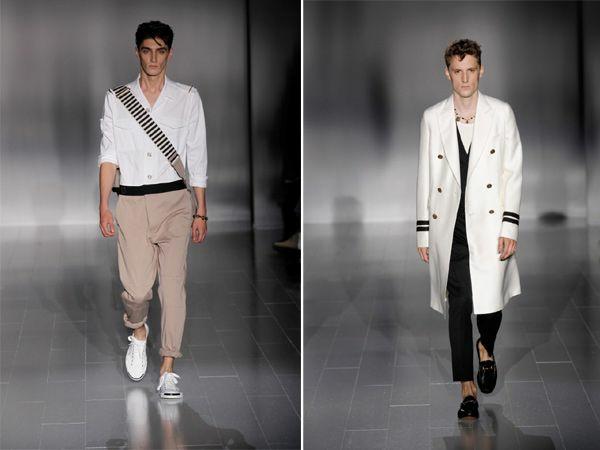 männer outfits farben weiß moderends ss 2015 Modetipps Männern