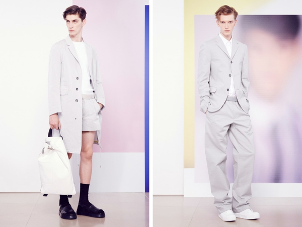 männer outfits jil sander ss 2015 Modetipps Männern