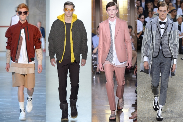 männer outfits trendfarben modetrends ss 2015 Modetipps Männern
