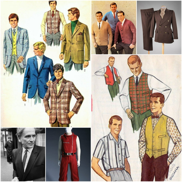 1960s mens casual fashion
