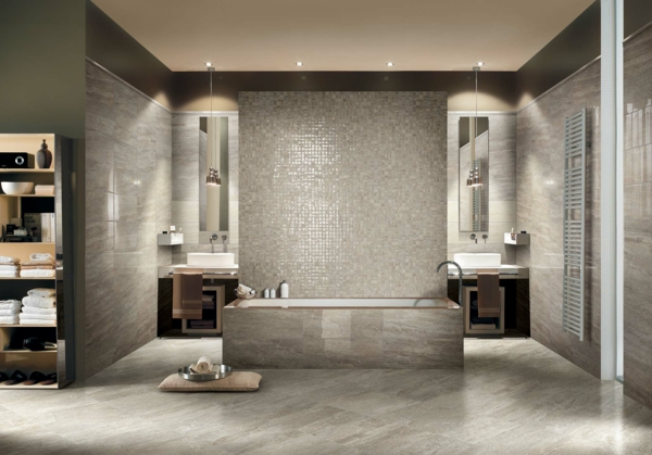 marble stone mosaik trennwand fliesen aus italien