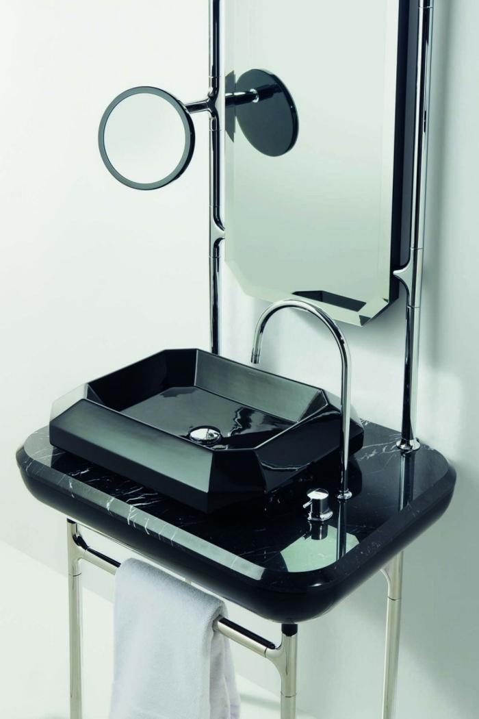 materico Jaime Hayon badplanung kleines bad waschbecken mit unterschrank