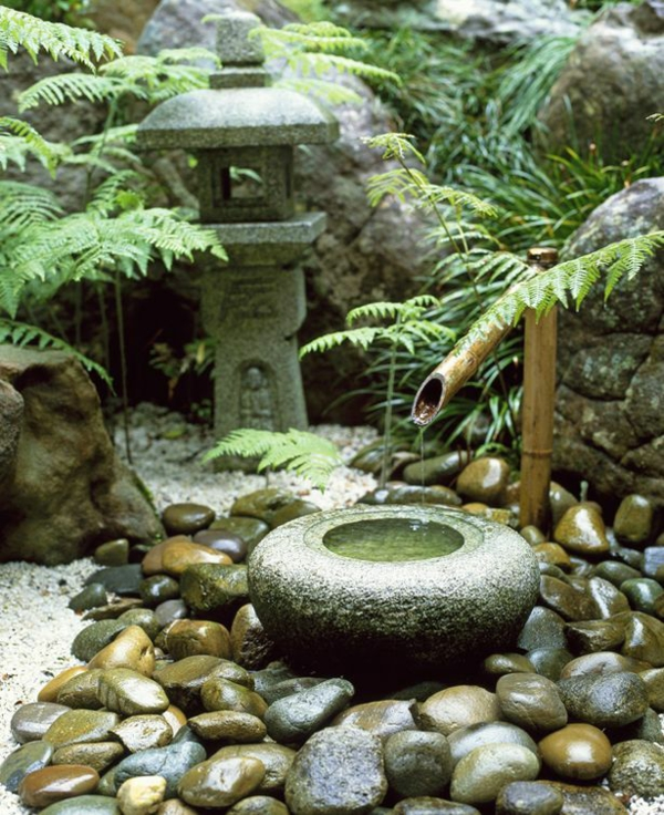garten mini bonsai mini zen wasserfall