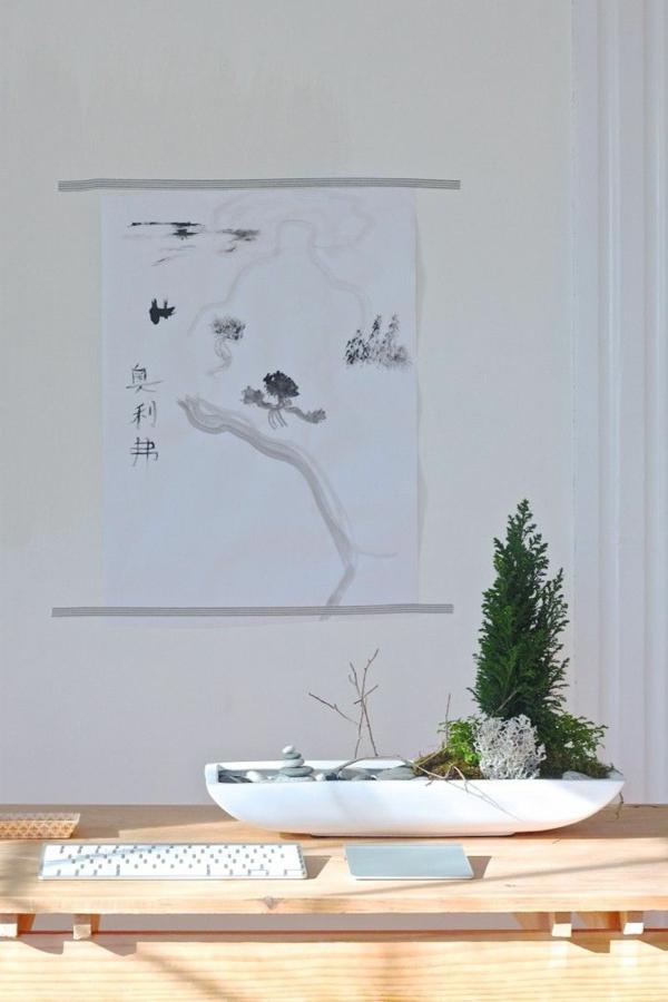mini zen garten zengarten modern innendesign