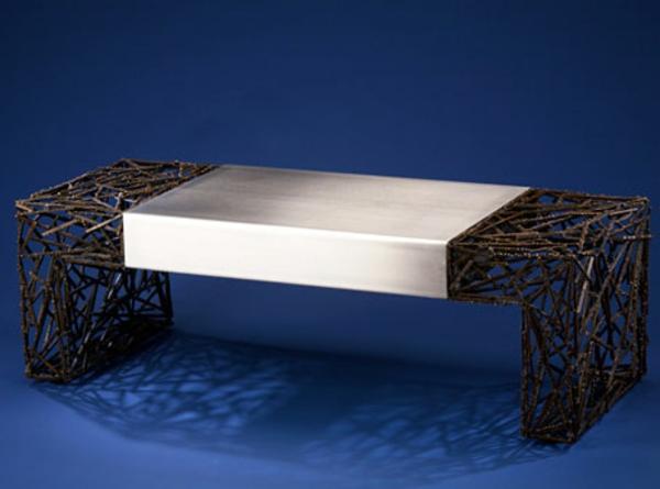 moderne tische metall designer