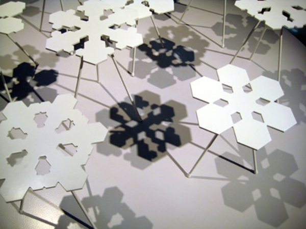 designer tische schneeglöckchen moderne