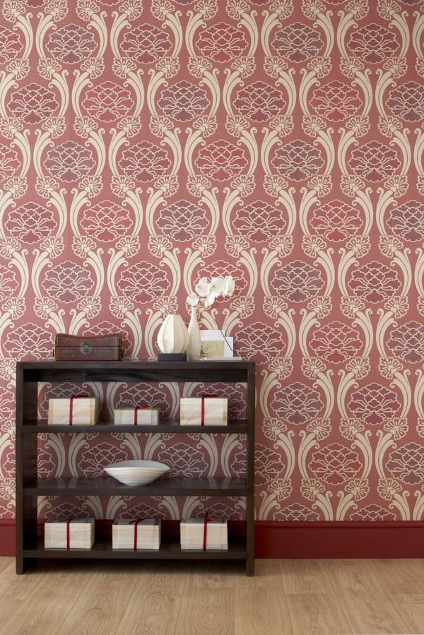 85 moderne tapeten die zu einer zeitgen ssischen. Black Bedroom Furniture Sets. Home Design Ideas