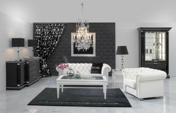 85 moderne tapeten die zu einer zeitgen ssischen. Black Bedroom Furniture Sets. Home Design Ideas