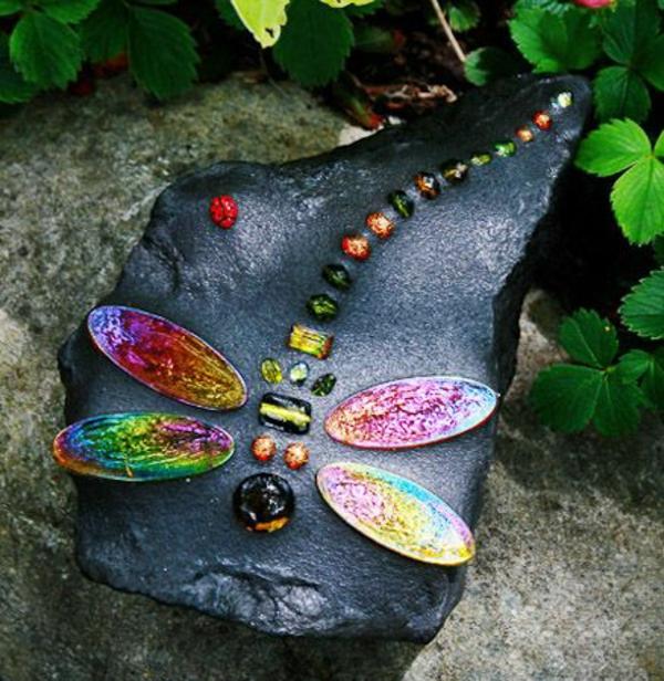 mosaik basteln anleitung farben