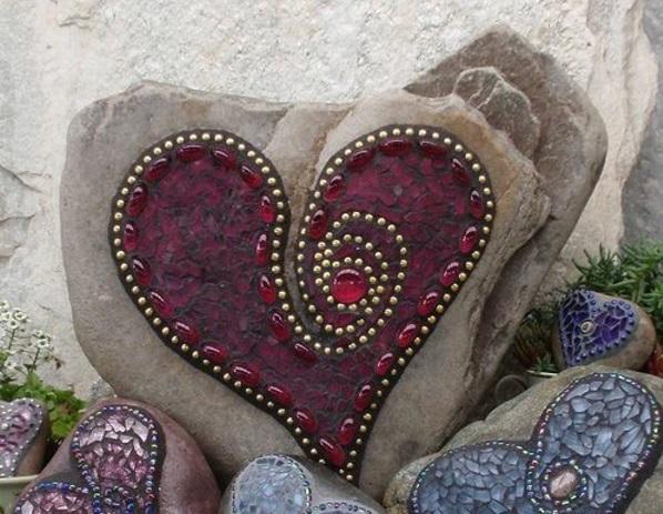 mosaik anleitung basteln mosaiksteine juwelen