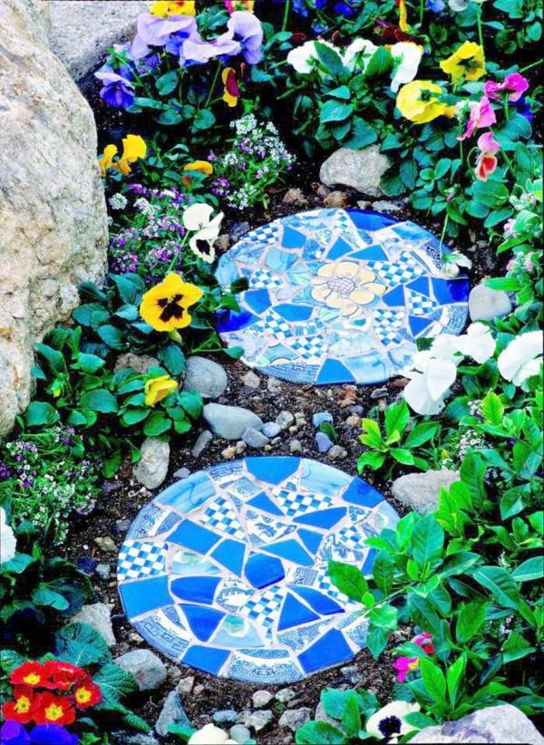 basteln anleitung mosaik mosaiksteine stücke